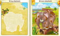 Libro Puzzle Elefanti