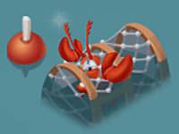 Lobster Trap Full