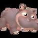 Grey Hippo Calf