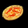 Scharfe Pizza