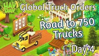 Hay Day Global Truck Orders - Road to 750 Truck Orders! (Day 4)