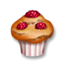 Himbeer-Muffin
