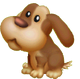Petit chien de chasse