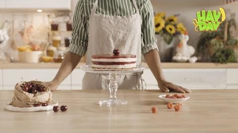 The Hay Day Kitchen The Red Berry Cake