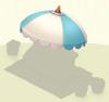 Awning Blue Umbrella