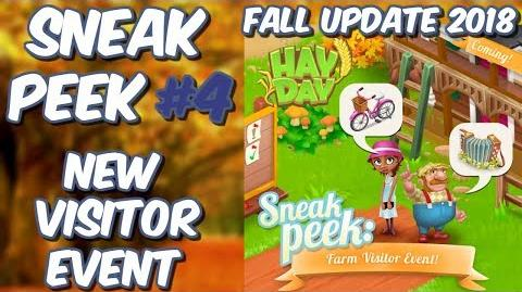 HAY DAY-SNEAK PEEK 4!! NEW FARM VISITOR EVENT!! SELL DECORATIONS!!