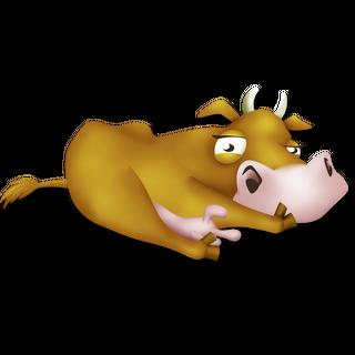 Vaca hambrienta