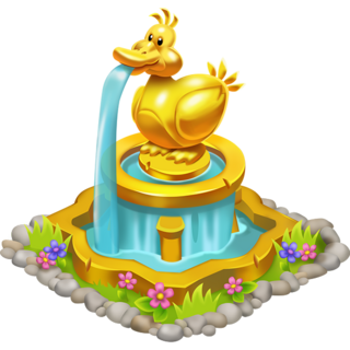 Golden Duck Fountain (lvl 150)