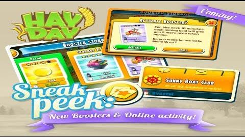 Hay Day Autumn Fall Update - Sneak Peek 1 Boosters & Online Activity
