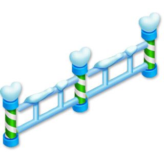 Winter Fence x5