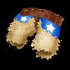 Cowboy-Chaps aus Wolle