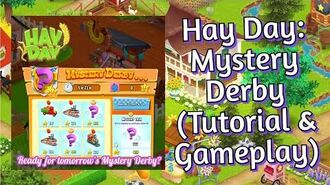 Hay Day How to Play the Mystery Derby? (Tutorial & Gameplay)