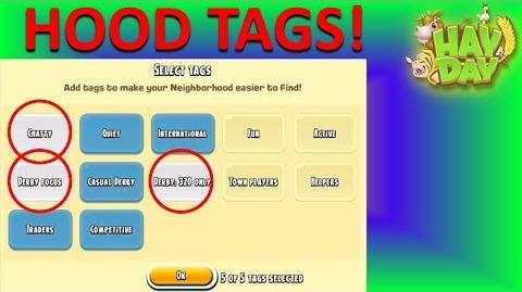 HAY DAY - HOOD SEARCH TAGS!