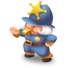 Police Gnome