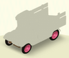 Wheels Pink Spokes