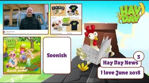 Hay Day Live Stream - June 2018 Update, Hay Day News