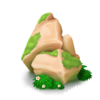 Rocas musgosas