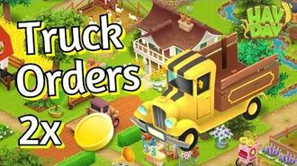 Hay Day Truck Orders Event! Double Coins!