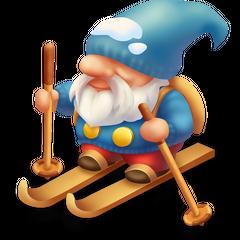 Skier Gnome
