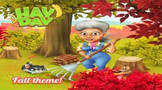 Hay Day Autumn Theme is in the Game!
