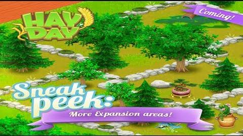Hay Day Sneak Peek 4 Update - New Land and Decoration