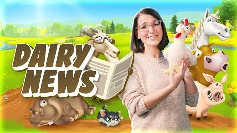 Hay Day Dairy News Update Information!
