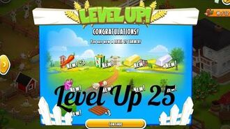Hay Day Level Up 25 • Unlock the Valley