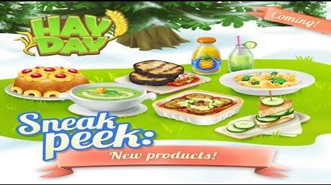 Hay Day Sneak Peek 2 - The New Products