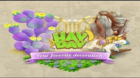 Hay Day Live Stream - Your Favourite Decoration & New Ideas