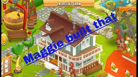 Hay Day - Maggie built that - Customization at work - farmhouse tours!