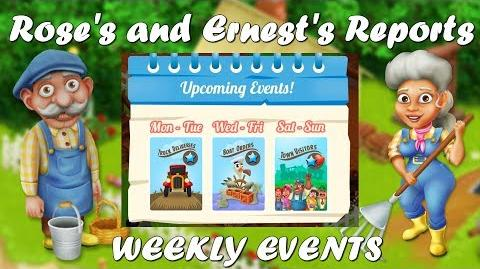 Hay DayHay Day Rose's and Ernest's Reports XP Week Events!