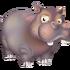 Hipopótamo gris