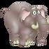 Elefante gris