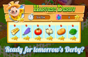 Harvest Derby