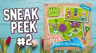 Hay Day Spring Update 2020 Custom Decorations!