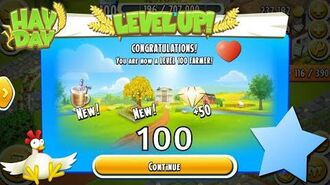 Hay Day Level Up to 100!