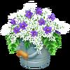 Blue Flower Bucket