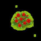 Rosenzaun Rot