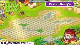 Hay Day Live Stream 2019 24 - Easter Design