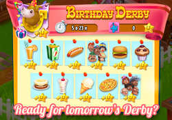 Birthday Derby