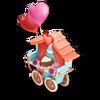 Carro de San Valentín