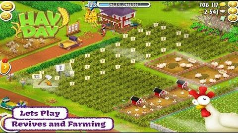 Hay Day Lets Play - Revives and Farming