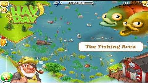 Hay Day - The Fishing Area