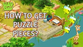 Hay Day How to Get Puzzle Pieces?