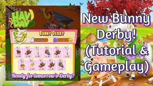 Hay Day How to Play the Bunny Derby? (Tutorial & Gameplay)