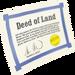Escritura de tierras