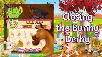 Hay Day Closing the Bunny Derby