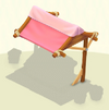 Awning Pink Canvas
