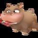 Brown Hippo Calf