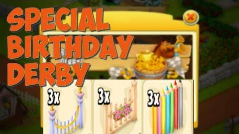 Hay Day - Hay Day birthday celebration continues.